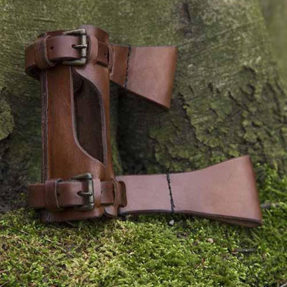 Epic Armoury Soporte ajustable LARP, marrón