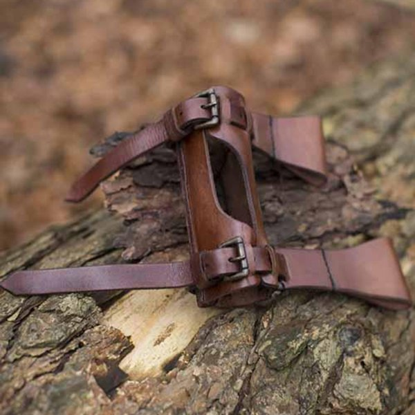 Epic Armoury LARP justerbar holder, brun