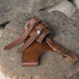 Epic Armoury LARP justerbar hållare äventyrare, brun