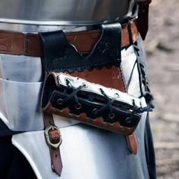 LARP zwaardhouder Imperial, svartbrun