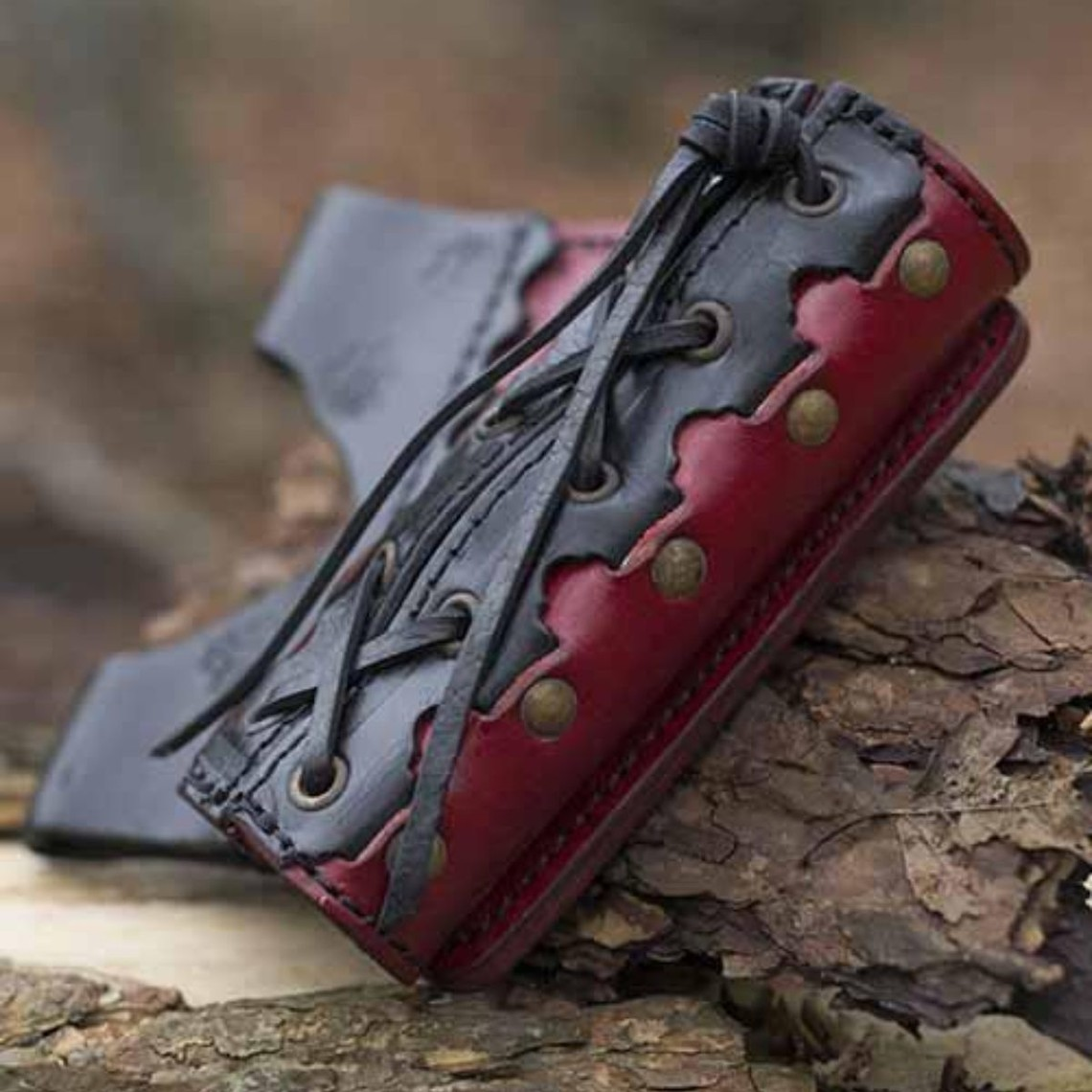 Epic Armoury LARP zwaardhouder Imperial, rojo-negro