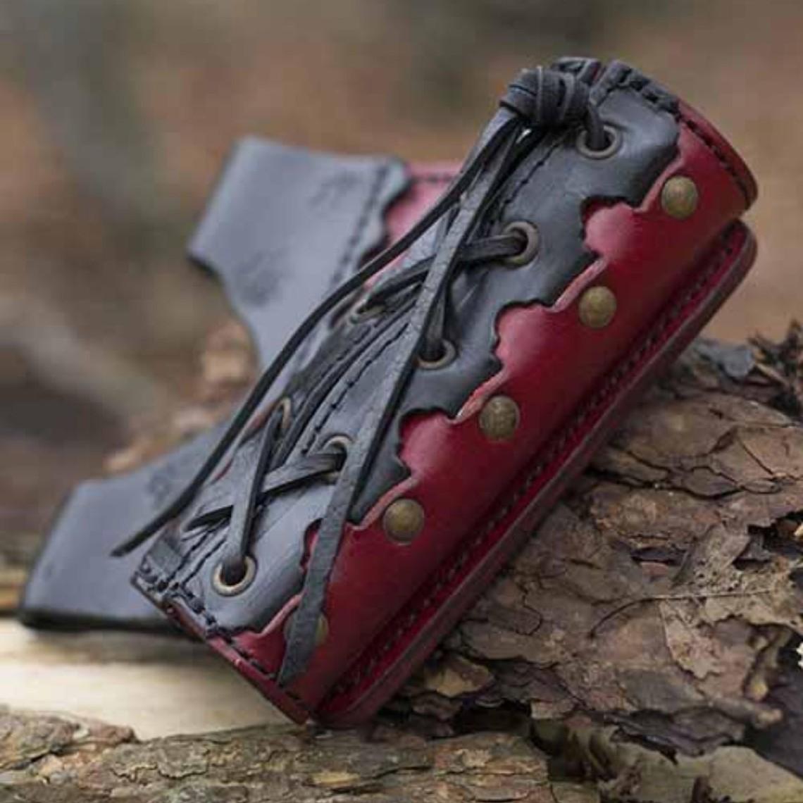 Epic Armoury LARP zwaardhouder Imperial, rot-schwarz