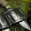 Epic Armoury Houder voor LARP werpmessen zwart, incl. 3 messen