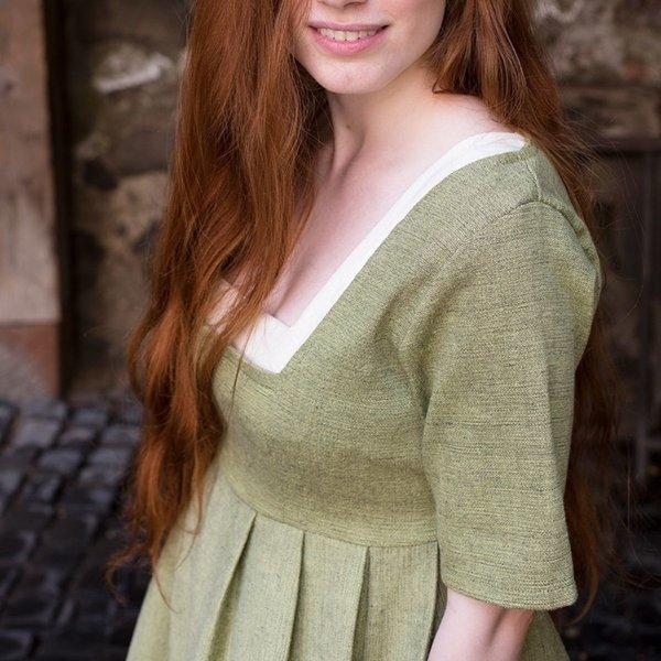 Burgschneider Middeleeuwse jurk Frideswinde groen