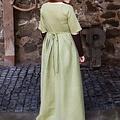 Burgschneider Mittelalterliches Kleid Frideswinde grün