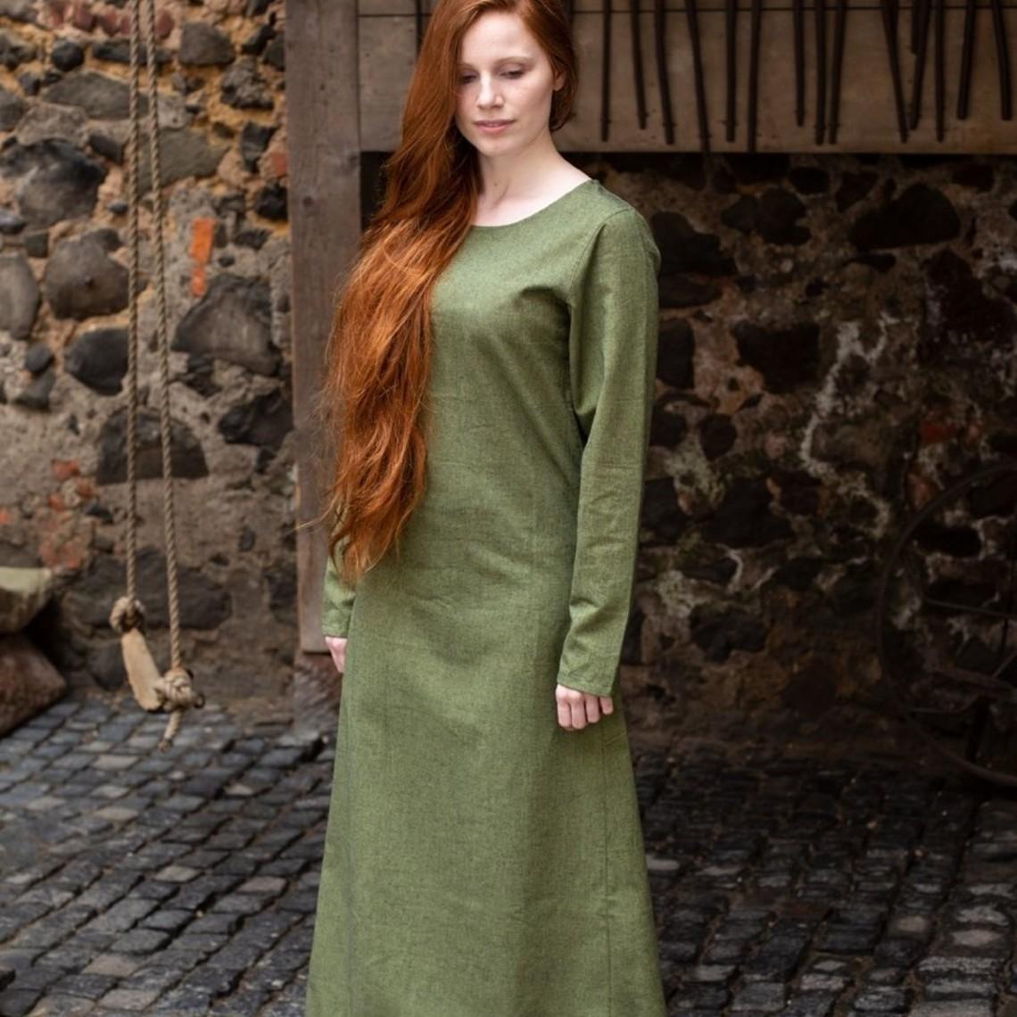 Burgschneider Mittelalterliches Kleid Freya (grün)