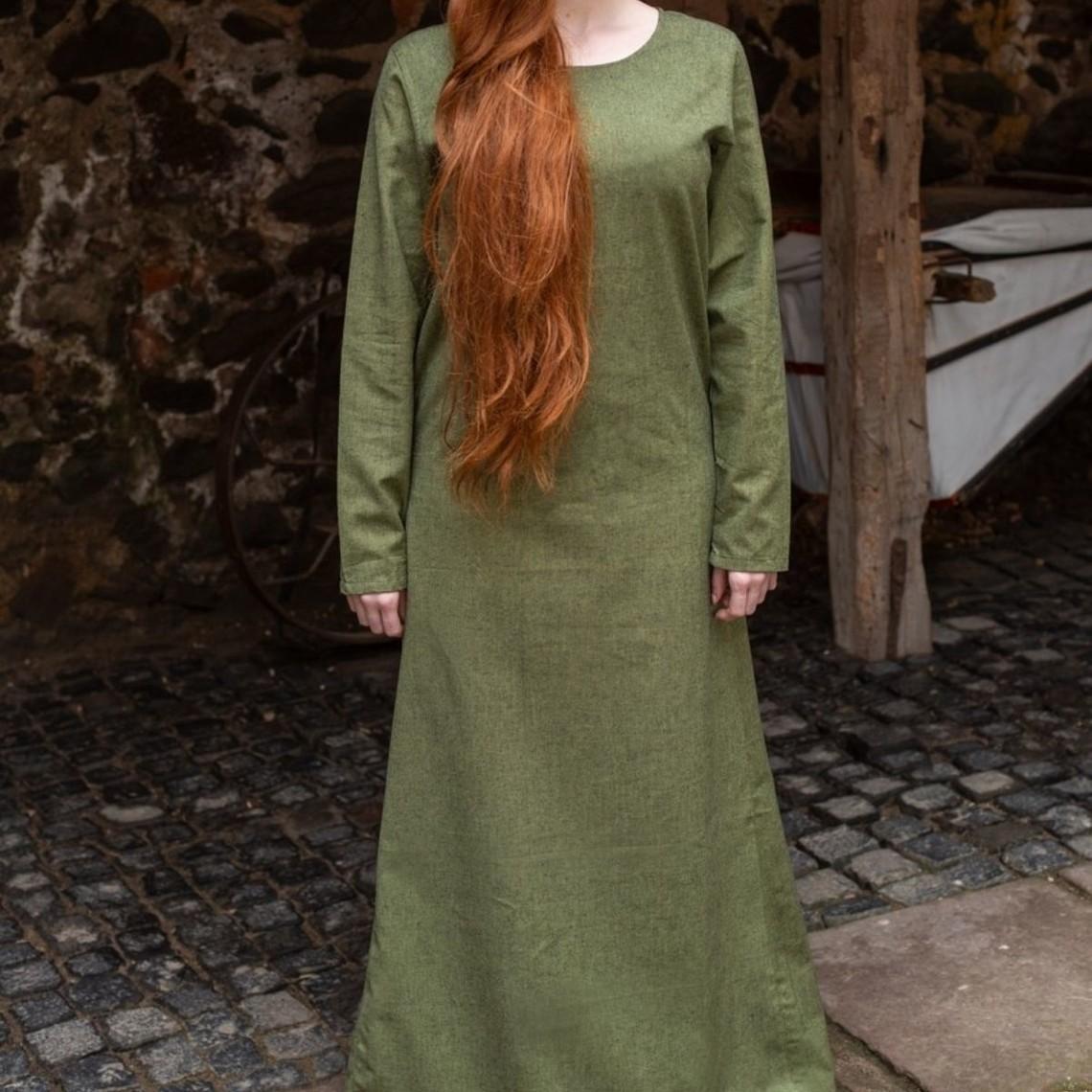 Burgschneider Średniowieczny strój Freya (zielony)