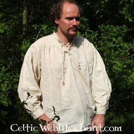 Middelalderlig skjorte, fløde