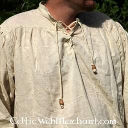 Middeleeuws hemd, crème