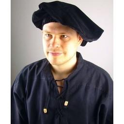 Beret Rembrandt, negro