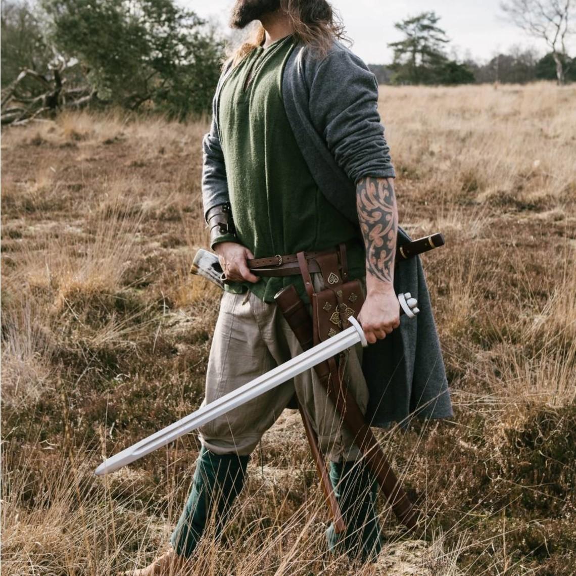 Leonardo Carbone Vikingbroek Dublin, natuurlijk grijsgroen