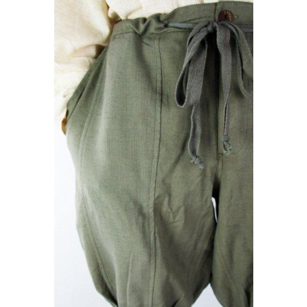 Viking trousers Dublin, grey/green