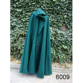 Leonardo Carbone Mittelalterlicher Mantel mit Kapuze, grün