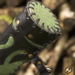 Pijlenkoker Atilla, zwart-groen