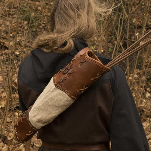 Epic Armoury Quiver Artemis, brun
