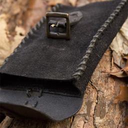 Square pouch Raymond, black
