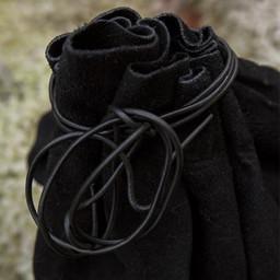 Läderpåse Michelangelo, svart