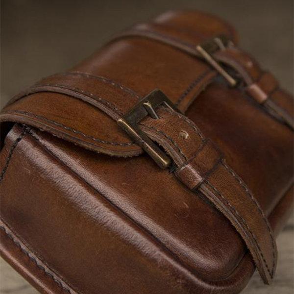 Epic Armoury Cintura in pelle Niccola, marrone