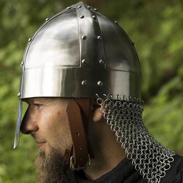 Epic Armoury Viking spangenhelm med kædepost