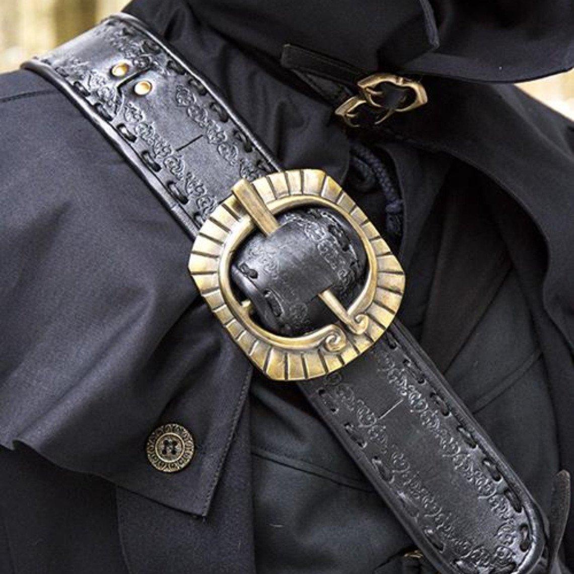 Epic Armoury Bandelier Zeven Zeeën, zwart