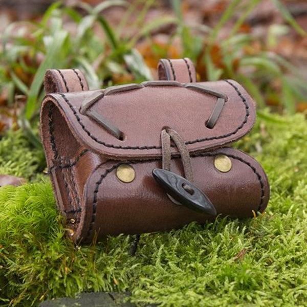 Epic Armoury Potionholder med to flasker, brun