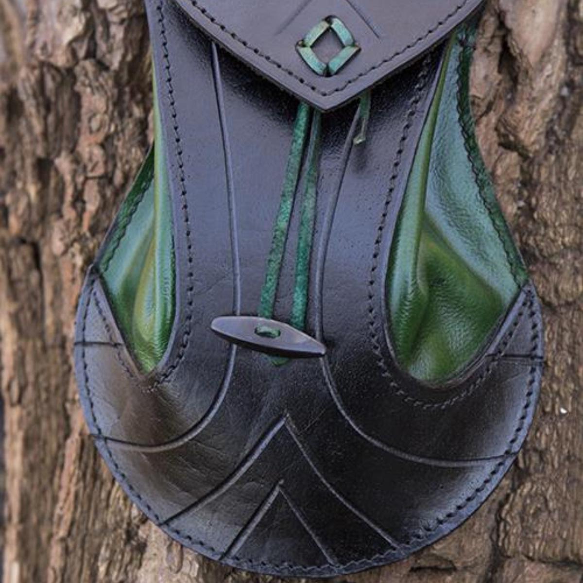 Elventas, zwart-groen