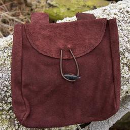 Średniowieczna torba Ysmay, brązowa