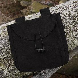 Epic Armoury Mittelalterliche Tasche Ysmay, schwarz