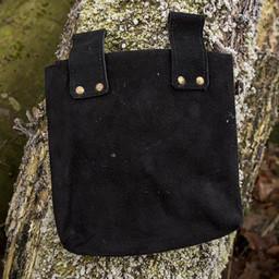 Middeleeuwse tas Ysmay, zwart