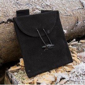Epic Armoury Mittelalterliche Tasche Merek, schwarz