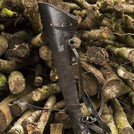 Epic Armoury Carquois Atilla, noir