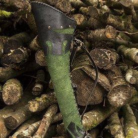 Epic Armoury Kołczan Atilla, czarno-zielony