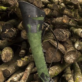 Epic Armoury Pijlenkoker Atilla, zwart-groen