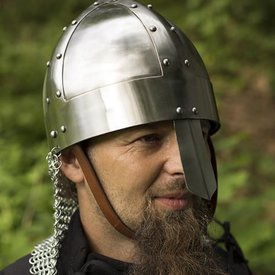 Epic Armoury Viking spangenhelm with chainmail