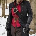 Epic Armoury Pirata baldric, negro