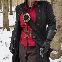 Pirat baldric, czarny