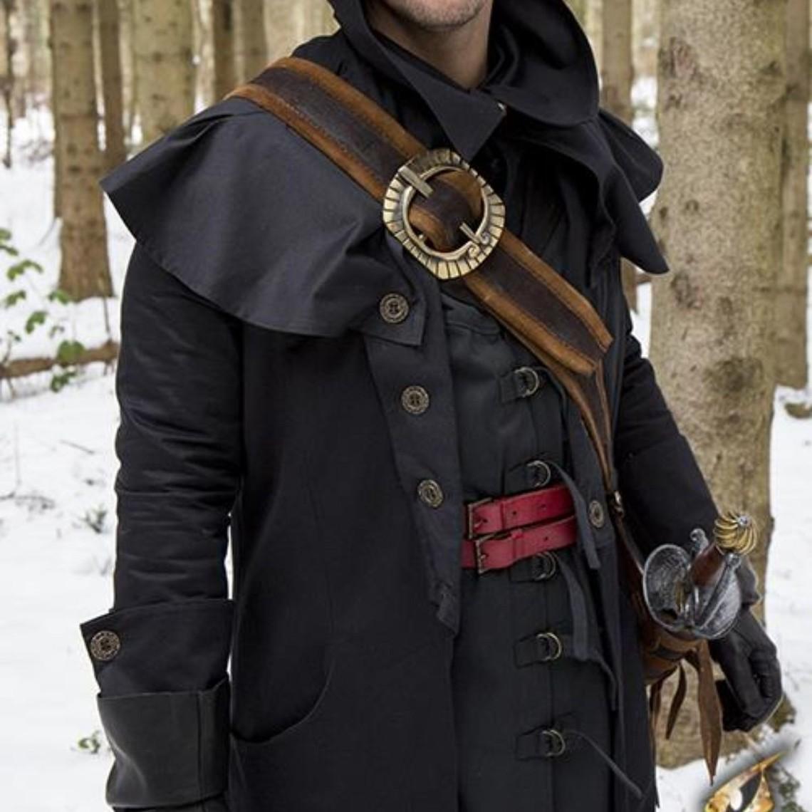 Epic Armoury Pirata baldric, marrone