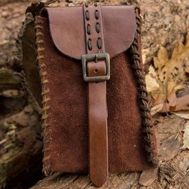 Epic Armoury Square pouch Raymond, brown
