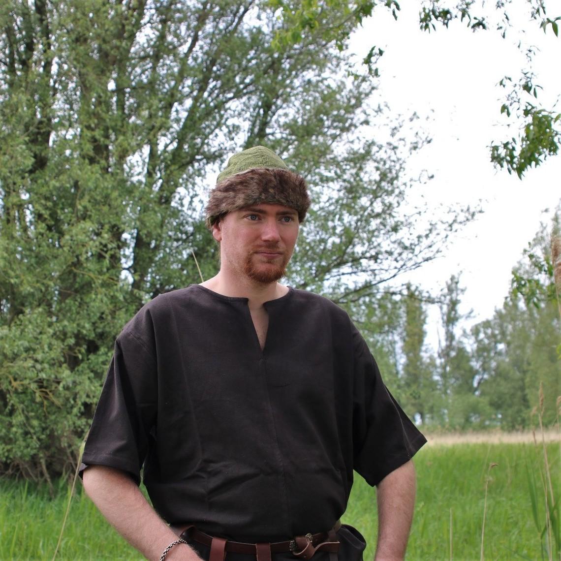 Leonardo Carbone Kapelusz Wikingów Birka, zielony
