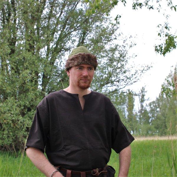 Birka Viking hat, green