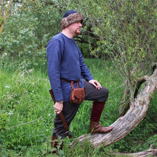Viking tunic Hans, blue