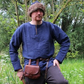 Viking tunic Hans, blue
