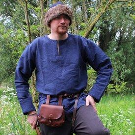 Leonardo Carbone Viking tunika Hans, niebieski