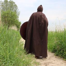 Cotton cloak, dark brown