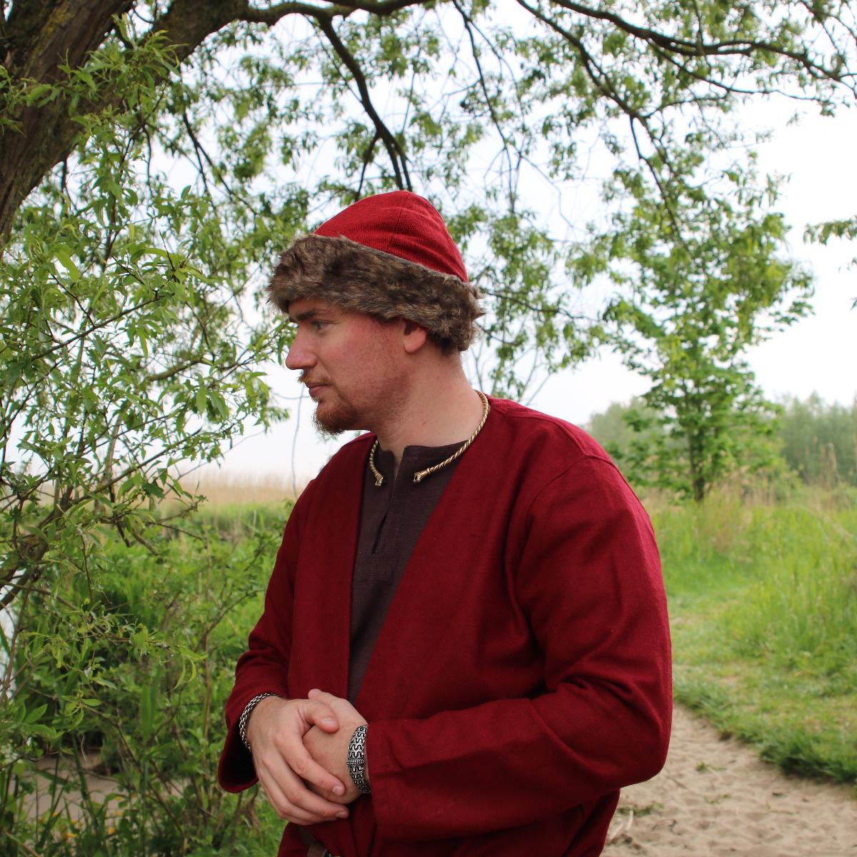 Birka Vikingmuts, rood
