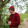 Leonardo Carbone Birka Vikingmuts, rood