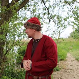 Birka Viking hat, red