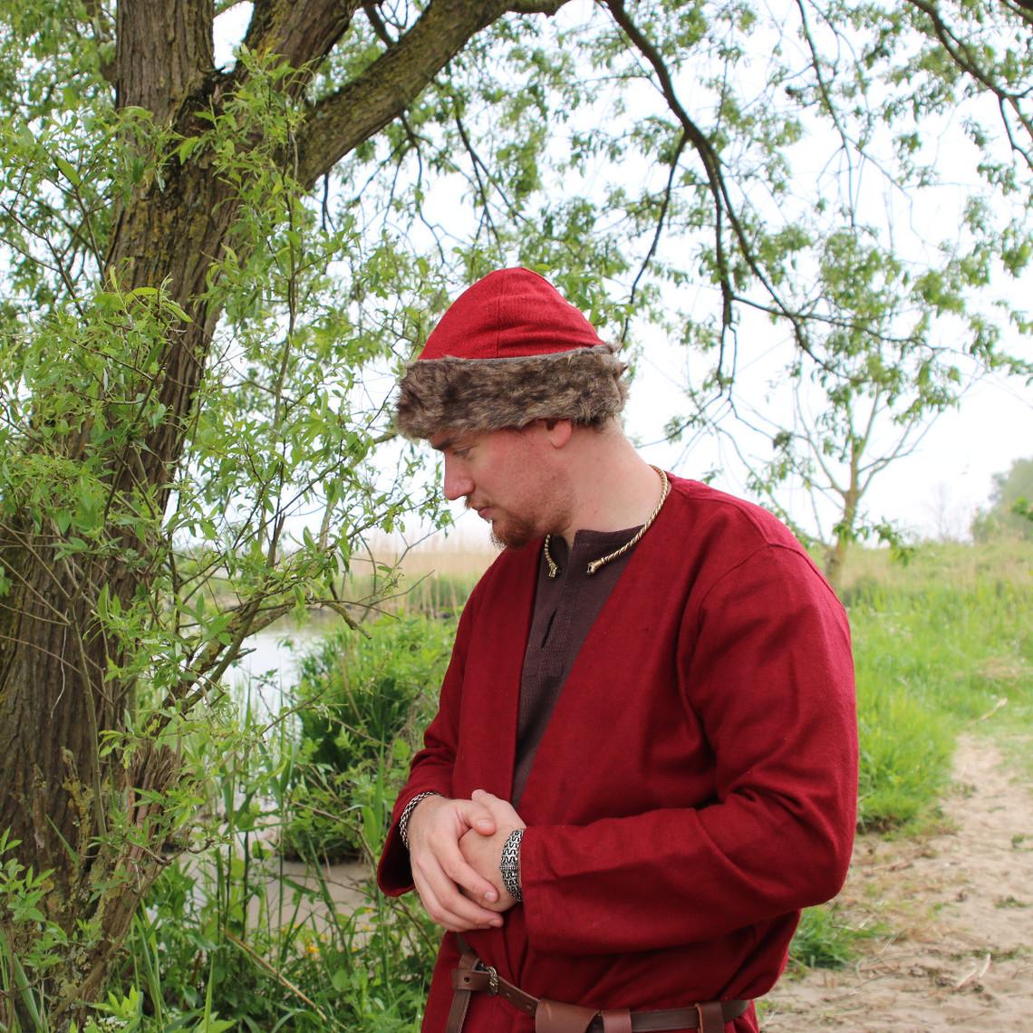 Leonardo Carbone Birka Viking hat, red