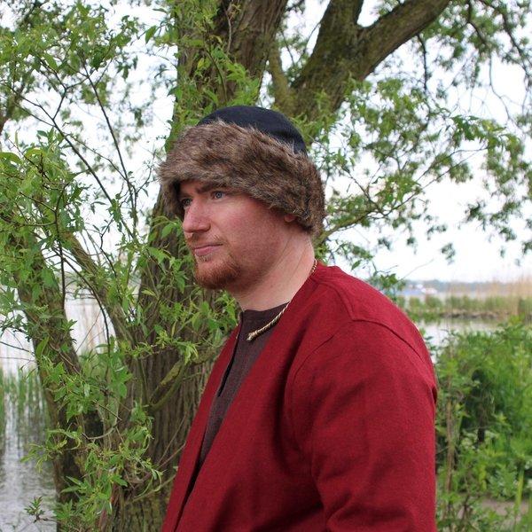Leonardo Carbone Birka Viking hatt, svart