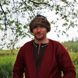 Birka Viking hat, black